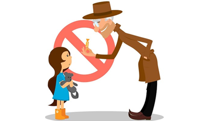 monophobia fear and taught stranger danger Age 4 or 5 is taught a 'stranger danger' curriculum at child care like so many children in early childhood programs and elementary schools are taught today.